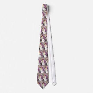 Vintage Art Nouveau Necktie - Tie by Mucha