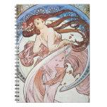 Vintage Art Nouveau Notebook