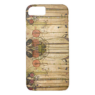 Vintage Art Nouveau Panel iPhone 7 Case