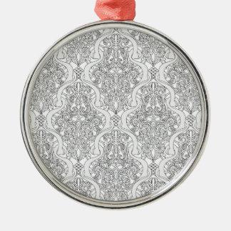 Vintage Art Nouveau Pattern Ornaments