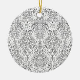 Vintage Art Nouveau Pattern Ornament