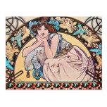 Vintage Art Nouveau Post Card