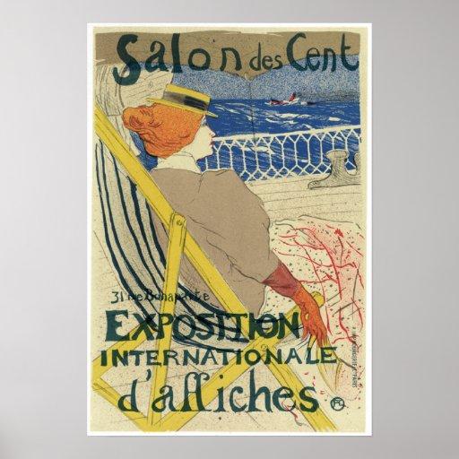 Vintage Art Nouveau Poster | Zazzle
