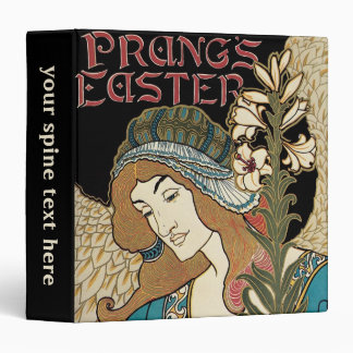 Vintage Art Nouveau, Prangs Easter Publications 3 Ring Binder