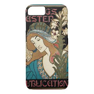 Vintage Art Nouveau, Prangs Easter Publications iPhone 7 Case