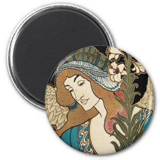 Vintage Art Nouveau, Prangs Easter Publications Magnet