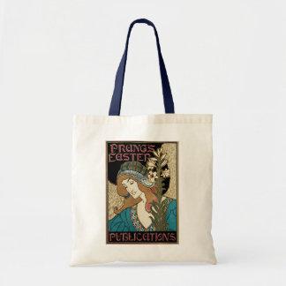 Vintage Art Nouveau, Prangs Easter Publications Tote Bag