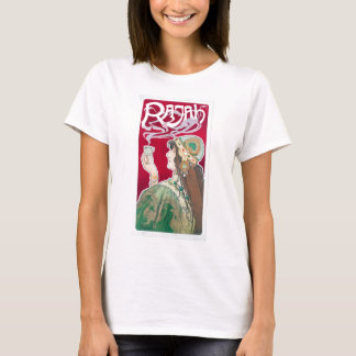 Vintage Art Nouveau Rajah Coffee Advertisement T-Shirt