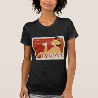 Vintage Art Nouveau Rajah Coffee Advertisement T-Shirt