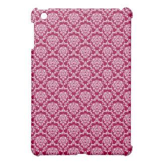 vintage Art Nouveau red wallpaper floral pattern iPad Mini Cases