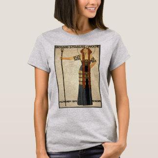 Vintage Art Nouveau Richard Strauss-Woche. Munich T-Shirt