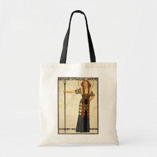 Vintage Art Nouveau Richard Strauss-Woche. Munich Tote Bag