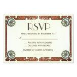 Vintage Art Nouveau RSVP Wedding Invitations I