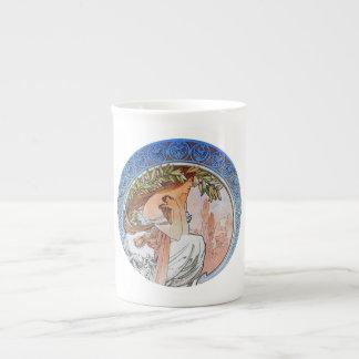 Vintage Art Nouveau Bone China Mug