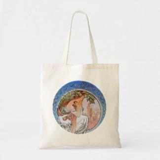 Vintage Art Nouveau Tote Bag