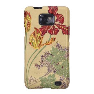 Vintage Art Nouveau Tulips Case-Mate Samsung Samsung Galaxy Cases