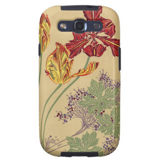 Vintage Art Nouveau Tulips Case-Mate Samsung Samsung Galaxy SIII Covers