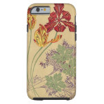 Vintage Art Nouveau Tulips iPhone 6 Case