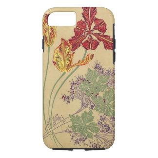 Vintage Art Nouveau Tulips iPhone 8/7 Case