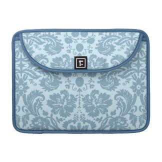 Vintage art nouveau turquoise floral MacBook pro sleeve