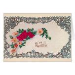 Vintage Art Nouveau Valentine Card