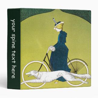 Vintage Art Nouveau, Victoria Fahrrad Werke, Rehm Binder