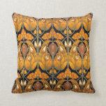 Vintage Art Nouveau Victorian Pillow Throw