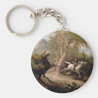 Vintage Art of Sleepy Hollow Keychain