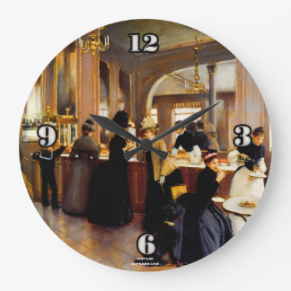 Vintage Art Pastry Shoppe 1889 Wall Clock