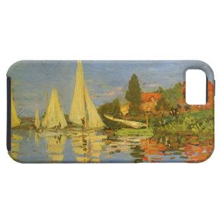 Vintage Art, Regatta at Argenteuil by Claude Monet iPhone 5 Cases