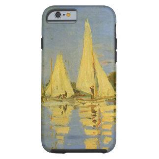 Vintage Art, Regatta at Argenteuil by Claude Monet Tough iPhone 6 Case