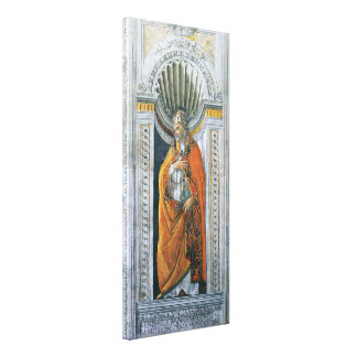 Vintage Art, Saint Sixtus II by Sandro Botticelli Canvas Print