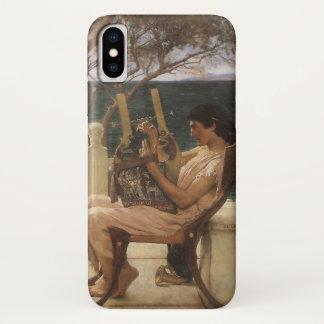 Vintage Art, Sappho and Alcaeus by Alma Tadema iPhone X Case