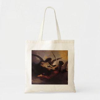 Vintage Art, Soul Brought to Heaven by Bouguereau Tote Bag