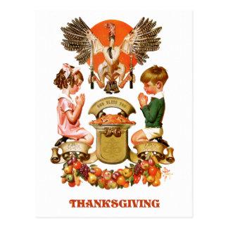 Vintage Art Thanksgiving Postcards