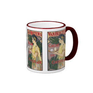 vintage Art: Van Houten's Holland Cocoa Chocolate Coffee Mug