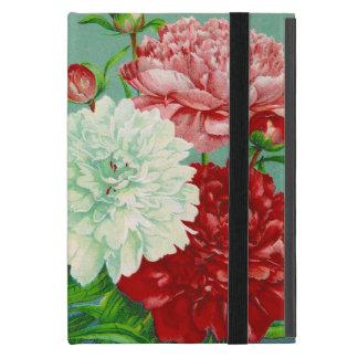 Vintage Art vintage floral Peonies Case For iPad Mini