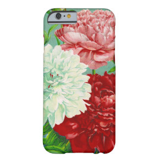 Vintage Art vintage floral Peonies Print Barely There iPhone 6 Case