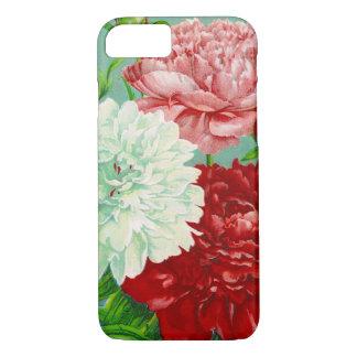 Vintage Art vintage floral Peonies Print iPhone 8/7 Case