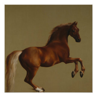 Vintage Art  Whistlejacket by George Stubbs Poster