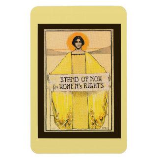 Vintage Art Women's Rights Magnet