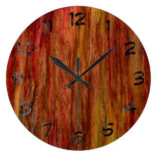 Vintage Art Wood Clocks