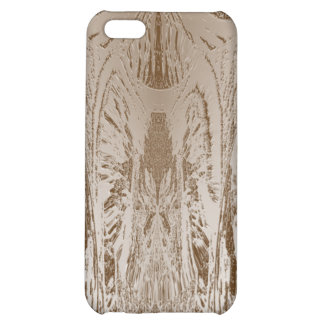 VINTAGE Artist Created Gold Foil Print iPhone 5C Covers