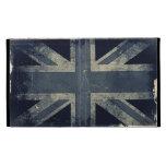 Vintage Artistic Grunge UK Flag iPad Folio Covers