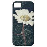 Vintage Artistic White Daisy Art iPhone 5 Case