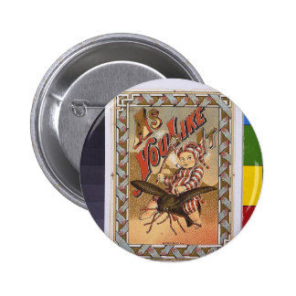 Vintage As You Like It Buttons