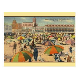 Vintage Asbury Park Postcard Post Card