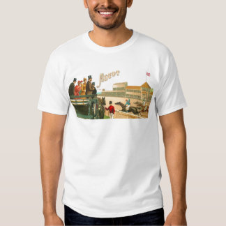Vintage Ascot Horse Race London Art T-Shirt