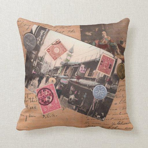 Vintage Asia Pillows