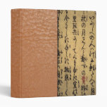 Vintage Asian Calligraphy on Antique Paper Binder